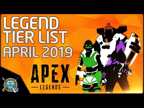 Apex BEST LEGENDS - Tier List - April 2019, Patch 1.1