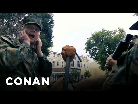 Andy Richter Knows How To Save Meals On Wheels  - CONAN on TBS