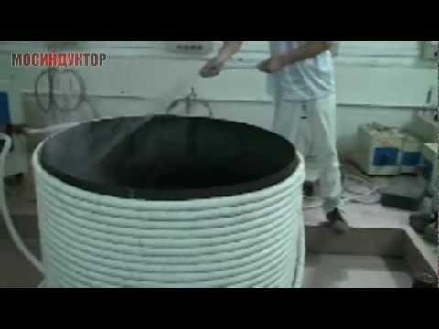 Индукционный нагрев бочки