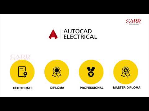 AutoCAD Electrical Course at CADD Centre - YouTube