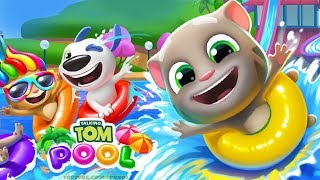 Talking Tom Pool Android Gameplay - Egg Hunt Level 21-30