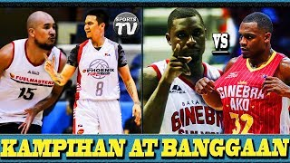 WELCOME BACK RR GARCIA at DAVON POTTS sa PBA | JUSTIN BROWNLEE VS VERNON MACKLIN | GINEBRA vs SAKERS