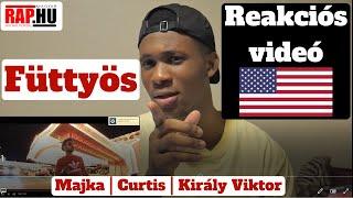 Füttyös Reaction Videó 🔥 Reakció Egyenesen Amerikából 🇺🇲   Majka X Curtis X Király Viktor 😎