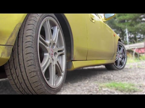 2WS Vs 4WS 4 wheel steering Honda Prelude. Slow speed manoeuvrability comparison JDM & UKDM