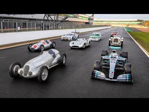 Celebrating 125 Years of Mercedes-Benz Motorsport