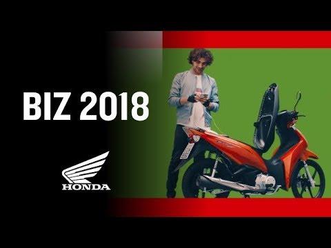 Chegou a Nova Honda Biz