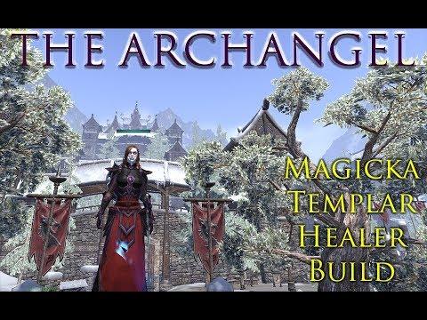 Magicka Templar Healer Build