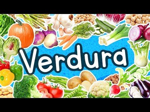 La verdura - 🍆🍅🥦 - La canzone della verdura - 🥒🌶🥕 - educativo - 🥔🥦🍅