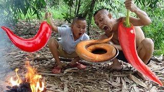 Lươn Nướng Siêu Cay - Đến Đi Bắt Lươn Thôi Cũng Không Nhịn Được Cười ( Super spicy grilled eel )