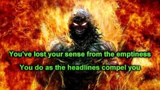 Open your eyes - Disturbed - (HD) Lyrics on screen