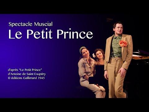 """D'après """"Le Petit Prince"""" d'Antoine de Saint Exupéry, © éditions Gallimard 1945. Avec le Duo Jatekok et Julien Cottereau, mis en scène par Fane Desrues, à l'affiche du Théâtre Marigny à partir du 10 décembre 2018."""