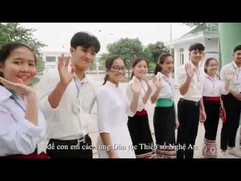 Trường PT DTND THPT số 2 Nghệ An - Xây dựng trường học xanh, sạch, đẹp, thân thiện, an toàn