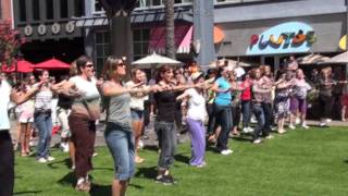 Jazzercise Flash Mob in Santana Row