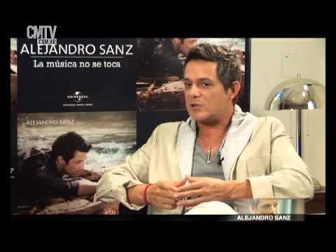 Alejandro Sanz video Cuenta como compone sus canciones - CMTV