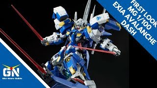 First Look & Lore: MG 1/100 Exia Avalanche