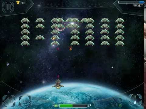 Space Cadet Defender HD iOS Gameplay - Part 1