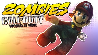 It's A-me, Zombie! - Call Of Duty World At War (Mario Map)