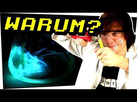 Wie funktionieren Knicklichter? Flüssiges Licht! Chemolumineszens - Gefährliche Experimente #113