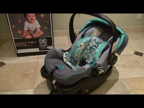Safety 1st OnBoard 35 Air+ Infant Car Seat (IC168CKQ) Review