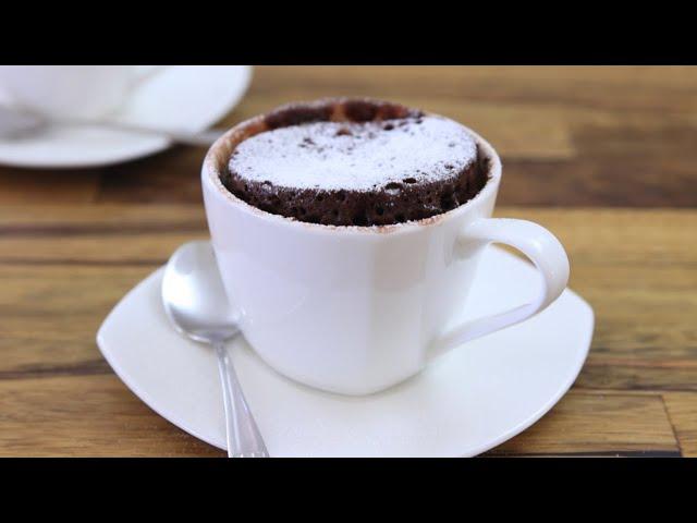 מתכון לעוגת שוקולד במיקרוגל