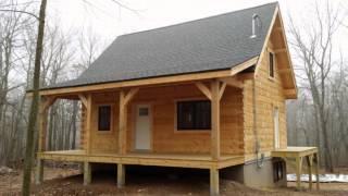 The Construction Of A Custom Log Home