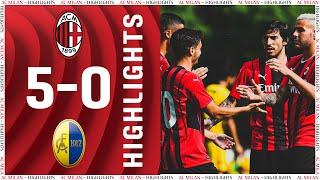 Highlights | AC Milan 5-0 Modena | Pre-season 2021/22