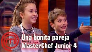 Natalia Y José Enrique, Una Bonita Pareja   Masterchef Junior 4   Programa 3