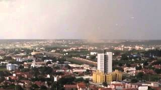 Tornado e tempestade causam destruição em Mossoró – RN