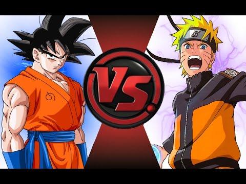 GOKU vs NARUTO! REMASTERED! Cartoon Fight Club Episode 50