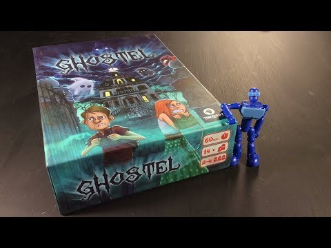 Stikfa-mations by Greg Cornell: Ghostel How to Play and a Review