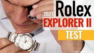 Rolex Explorer II (2021): Hands-on-Test