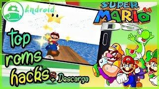 TOP 5 ROMS HACKS MARIO 64 DS Android + Descarga, Mega Mediafire!/