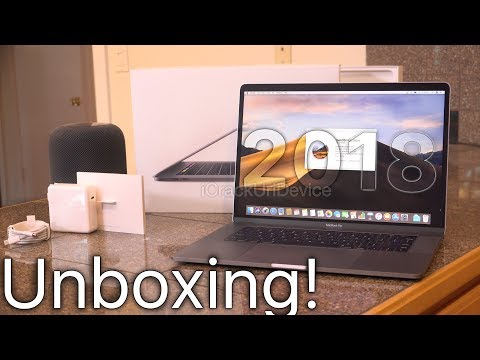 New MacBook Pro 2018: Unboxing and Review! (15-inch Setup)