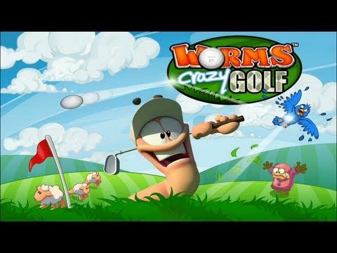 Worms Crazy Golf IOS
