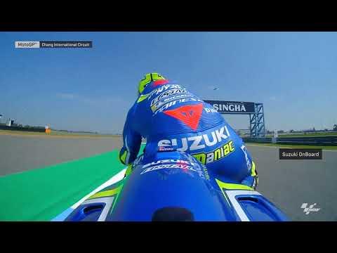 Suzuki OnBoard: 2018 PTT Thailand Grand Prix