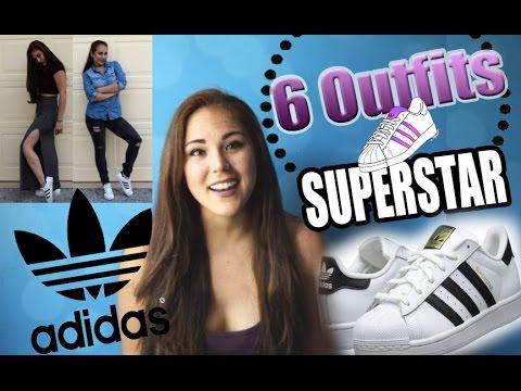 6 Outfits para combinar con Adidas SuperStar ♥