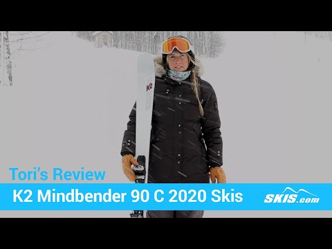 Video: K2 Mindbender 90 C Alliance Skis 2020 21 40