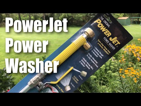 The Original POWER JET Power Washer Spray Hose Nozzle Review