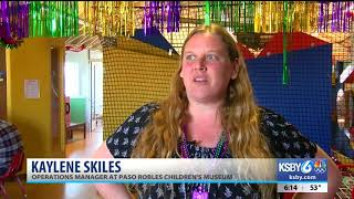 Paso Robles Childrens Museum Hosts Mardi Gras Party For Children, Families