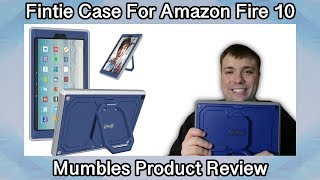 Fintie Case for Amazon Fire HD 10 With Stand and shockpoof cover - Mumbles Product Review