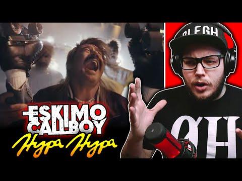 WHAT JUST HAPPENED?! Eskimo Callboy - Hypa Hypa feat. Sasha (Reaction)
