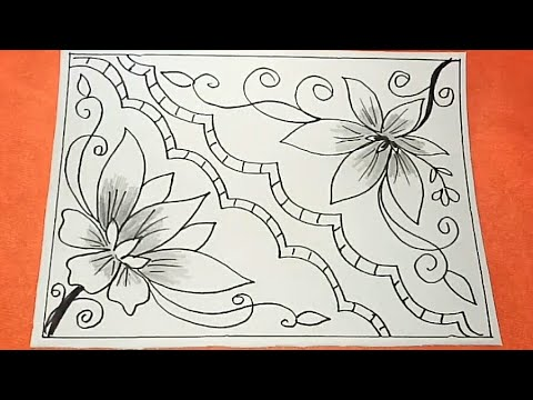 Menggambar Batik Mudah Menggambar Dan Mewarnai
