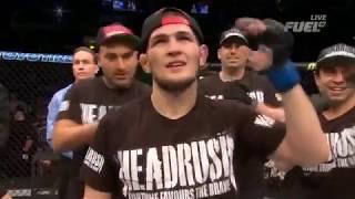 ПЕРВЫЙ бой ХАБИБА НУРМАГОМЕДОВА в UFC лучшие МОМЕНТЫ | BOFS