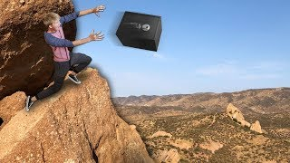 THROWING ABANDONED SAFE OFF A 200FT CLIFF!!