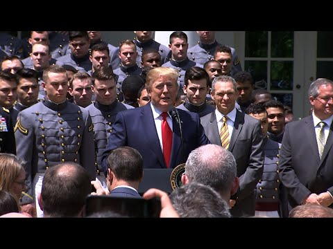 President Trump suggests waiver allowing service academy athletes to turn pro earlier