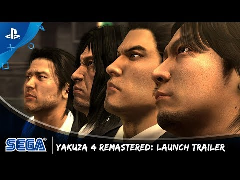 The Yakuza Remastered Collection - Yakuza 4 Launch Trailer | PS4 thumbnail