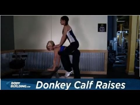 Donkey Calf Raises - Calf Exercise - Bodybuilding.com