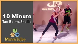 10 Minute Tae Bo Cardio Party with Shellie Blanks Cimarosti by MoveTube Network