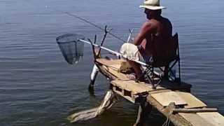 разборные помосты для рыбалки