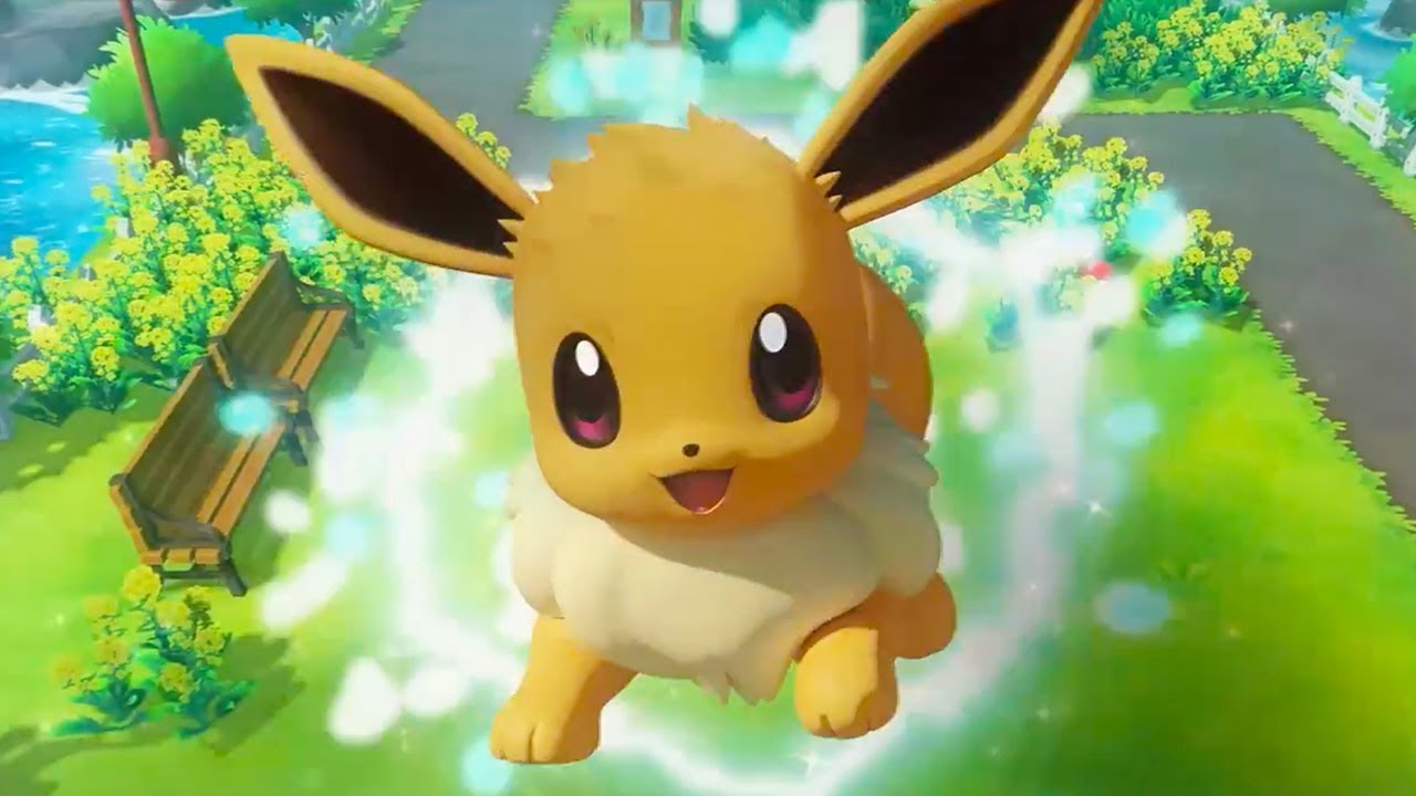 Trailer di Pokémon: Let's Go, Pikachu e Eevee